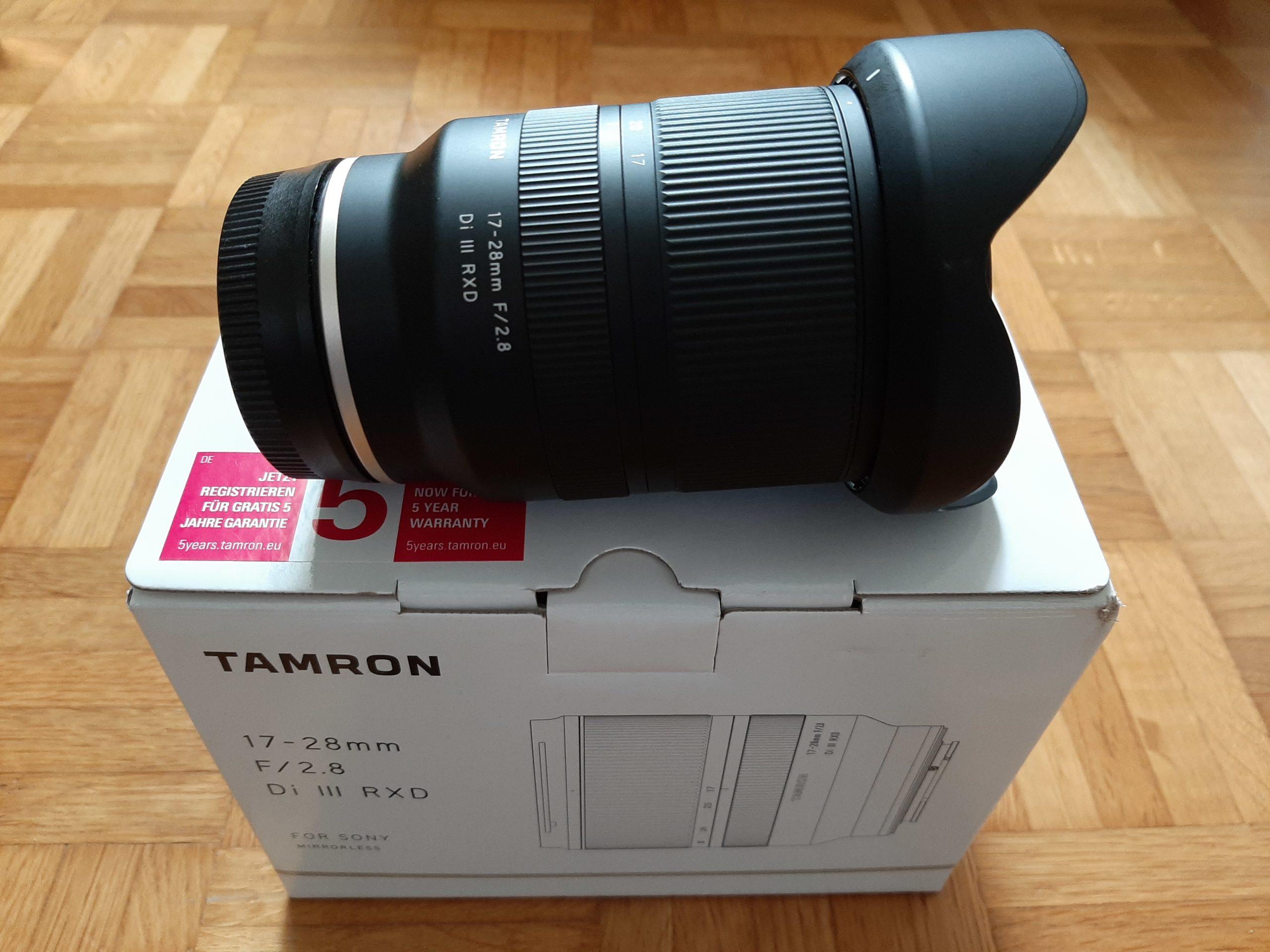 Tamron 17-28mm f2.8